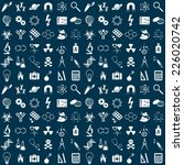 seamless vector pattern with... | Shutterstock .eps vector #226020742