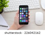alushta  russia   october 25 ... | Shutterstock . vector #226042162