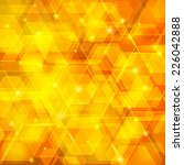orange abstract techno... | Shutterstock .eps vector #226042888