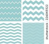 tile vector chevron pattern set ... | Shutterstock .eps vector #226045522
