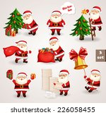 santa clause going to... | Shutterstock .eps vector #226058455