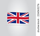 flag united kingdom. made in... | Shutterstock .eps vector #226063276