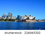 the city skyline of sydney ... | Shutterstock . vector #226065202