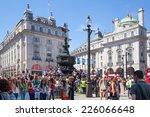 london  uk   september 30  2014 ... | Shutterstock . vector #226066648