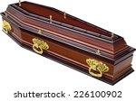 coffin | Shutterstock . vector #226100902