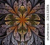 Forest Themed Fractal Flower ...