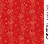 hand drawn christmas snowflake... | Shutterstock .eps vector #226117618