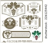 border style labels on...   Shutterstock .eps vector #226125442