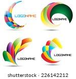 vector logo design template ....