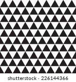 vector seamless cube pattern .... | Shutterstock .eps vector #226144366