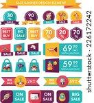 toy sale banner design flat... | Shutterstock .eps vector #226172242