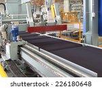 cutting aluminum lines. | Shutterstock . vector #226180648