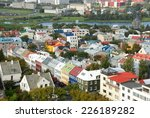 reykjavik colourful city