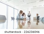 cabinets in office | Shutterstock . vector #226236046