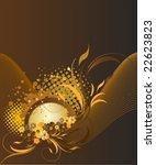 vector floral background   Shutterstock .eps vector #22623823