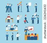 people icons business man... | Shutterstock .eps vector #226241632
