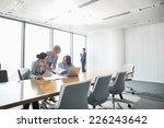 businesswomen looking at... | Shutterstock . vector #226243642