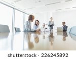 businesspeople in conference... | Shutterstock . vector #226245892