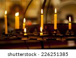 candles | Shutterstock . vector #226251385