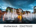 Fountains At Piccadilly Garden...