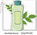 make up cosmetics with neem... | Shutterstock .eps vector #22629145