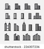 office building icon | Shutterstock vector #226307236