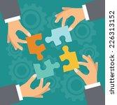 business concept. illustration... | Shutterstock . vector #226313152