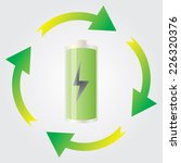 Vector Green Energy Recycling...