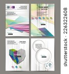 abstract vector banners  design ... | Shutterstock .eps vector #226322608