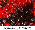 berry cake | Shutterstock . vector #226344985