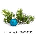 christmas ball decoration... | Shutterstock . vector #226357255