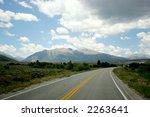 clouds over highway in colorado | Shutterstock . vector #2263641