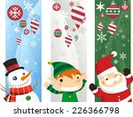 Christmas Banners With...