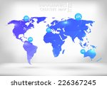 abstract creative concept... | Shutterstock .eps vector #226367245