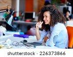 successful business woman... | Shutterstock . vector #226373866