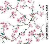 Chinese Sakura White Seamless...