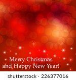 christmas background | Shutterstock .eps vector #226377016