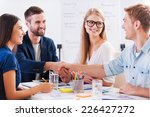 welcome on board  group of... | Shutterstock . vector #226427272