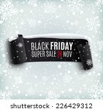black friday sale background...   Shutterstock .eps vector #226429312