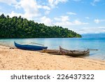 Traditional Malagasy Boat....