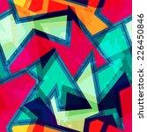 urban geometric seamless...   Shutterstock . vector #226450846