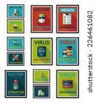hospital poster banner design... | Shutterstock .eps vector #226461082