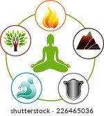 five elements | Shutterstock .eps vector #226465036