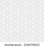 gray seamless pattern on a... | Shutterstock .eps vector #226470022