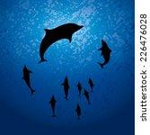 school of fish   Shutterstock .eps vector #226476028