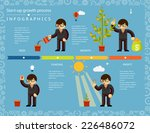 creative business timeline... | Shutterstock .eps vector #226486072