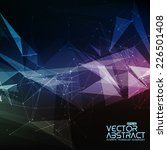 Abstract Vector Mesh Background....