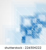 abstract vector background.... | Shutterstock .eps vector #226504222