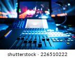 audio sound mixer with buttons... | Shutterstock . vector #226510222