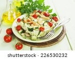 baked zucchini with chicken ... | Shutterstock . vector #226530232